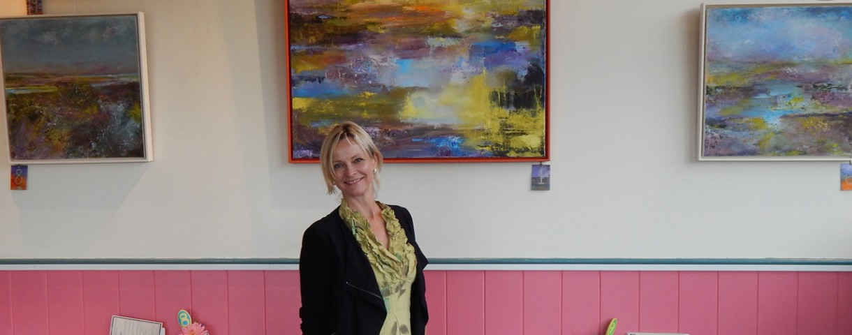 Exhibition 'Sunrise to Sunset' at Wiveton Cafe