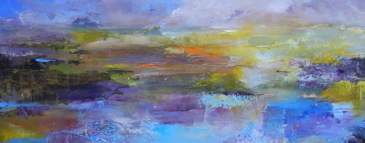 Tracey Ross 'Beautiful Light II' mixed media on canvas. 104 x 104 cm Framed size. new web