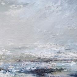 £750 Mixed media on canvas. 53 x 53cm. Framed
