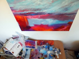 'Harbour Light' work in progress