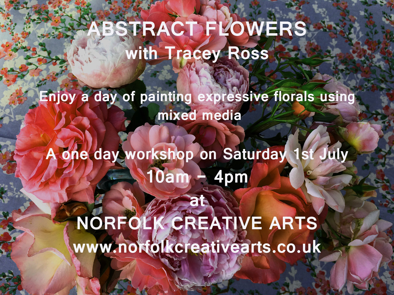 Bold Abstract Flower Workshop