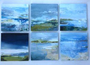 Mini artworks 15x15cm £95 each