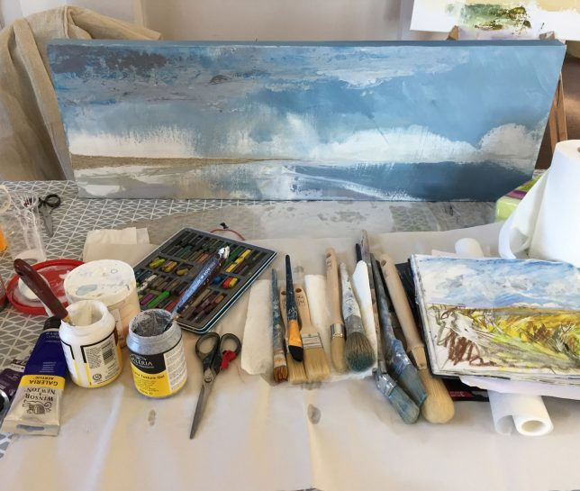 Tracey Ross or Tracy Ross art workshops