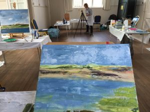 Mixed media art workshops in Norfolk