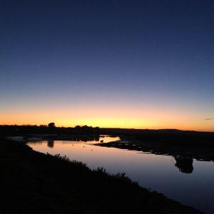 Burnham Overy Staithe, sunset