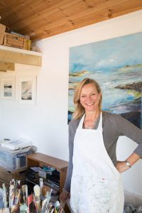 Tracey Ross Art studio