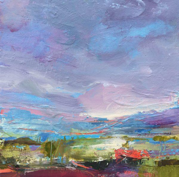 Tracey Ross Artist 'Summer Saltmarsh 5'