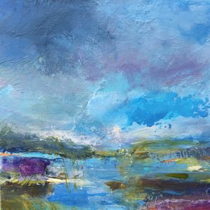 Tracey Ross Artist 'Summer Saltmarsh 6'